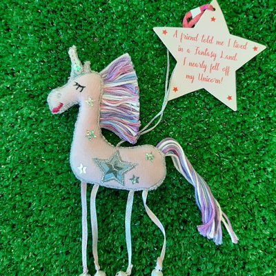Believe You Can Pink Unicorn - A Friend told me ...