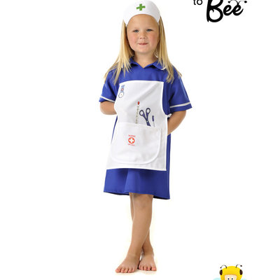 Traditional Nurse Costume - Age 5/7 years