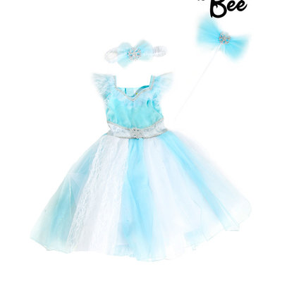 Aqua Fairy Costume Set - 2/3 years
