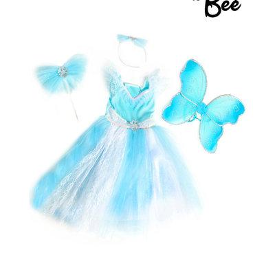 Aqua Fairy Costume Set - 3/5 years
