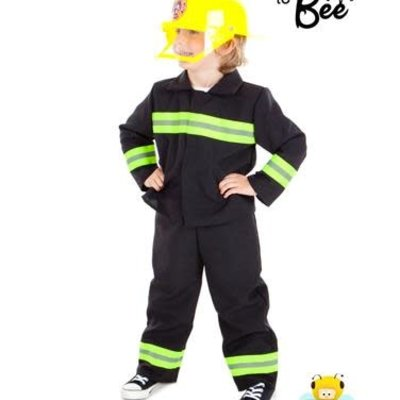 Fire & Rescue Costume - Age 3/5 years