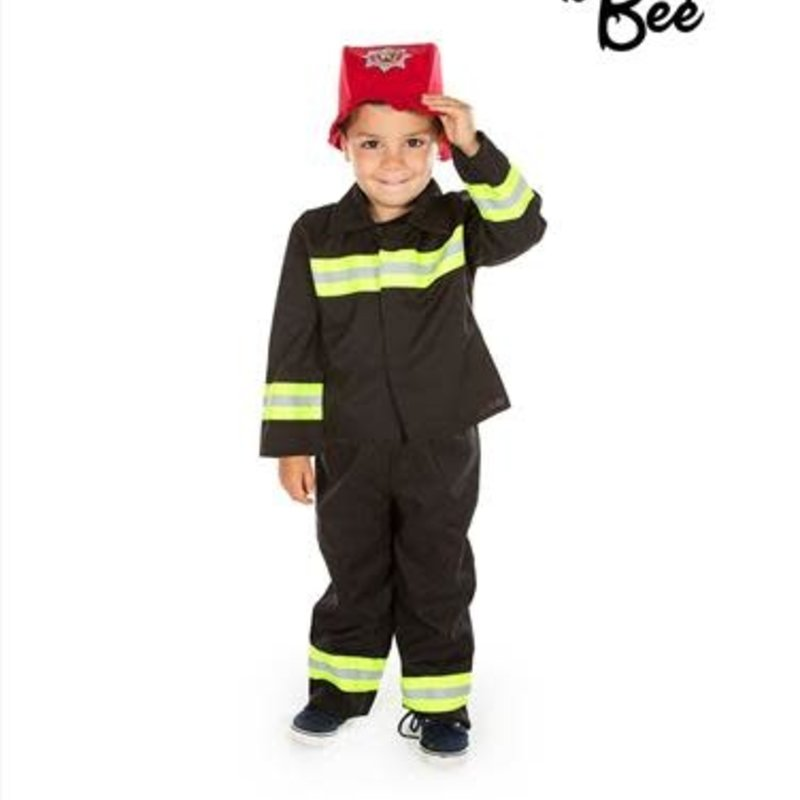 Fire & Rescue Costume - Age 2/3 years