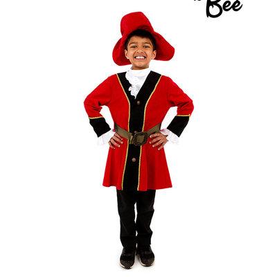 Pirate Captain Costume - 3/5 years