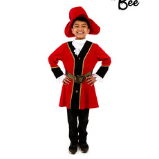 Pirate Captain Costume - 5/7 years