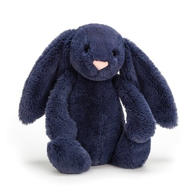 Jellycat - Bashful Jellycat - Bashful Navy Bunny - Small