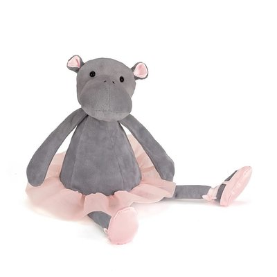 Jellycat - Dressed to Impress Jellycat - Dancing Darcey Hippo