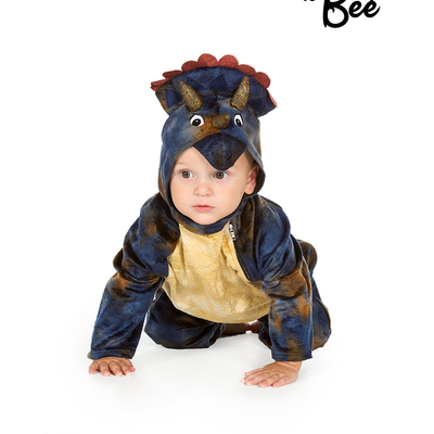 Baby Triceratops Costume - Age 12/18 mths