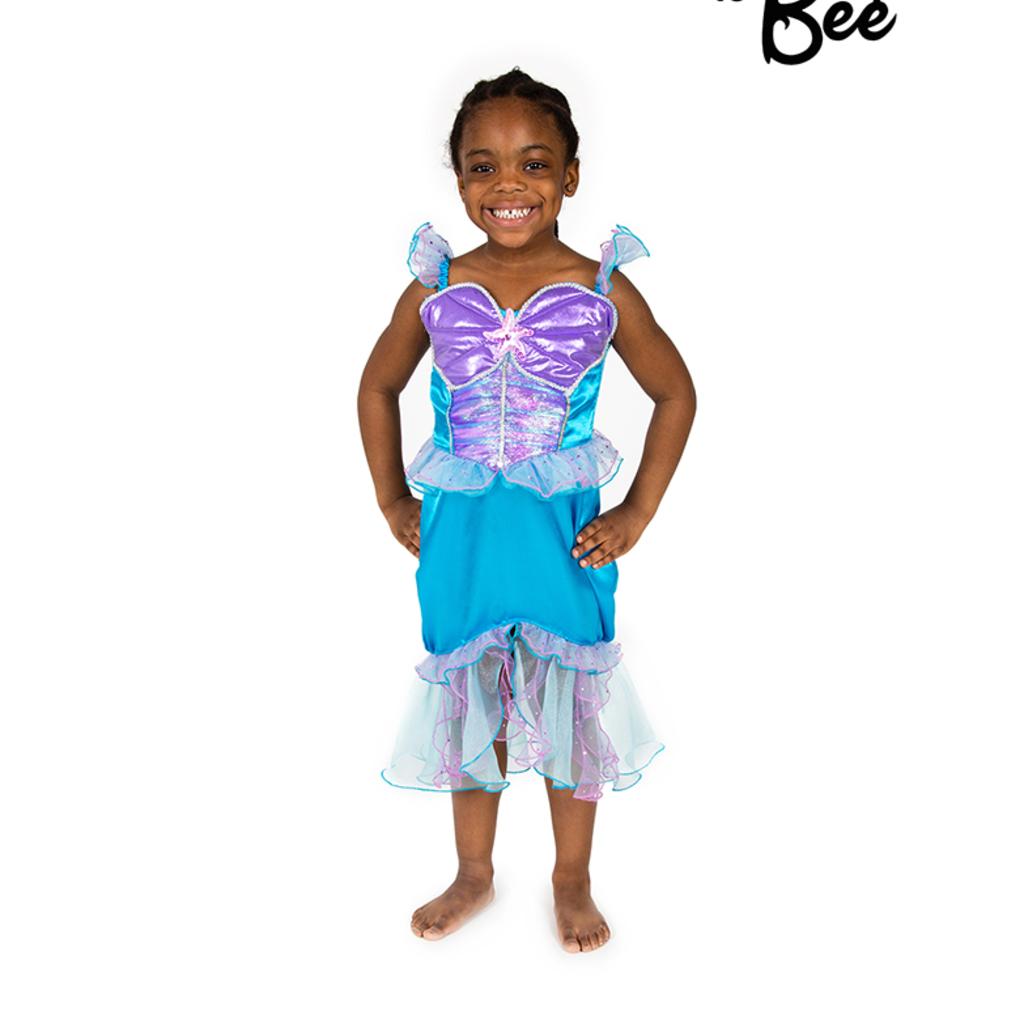 Mermaid Costume - Age 5/7 years