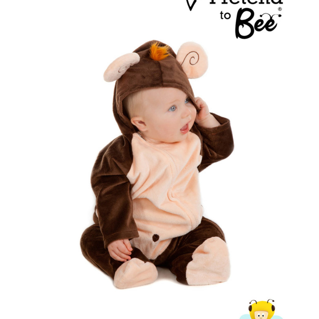 Monkey All in One Costume - Age 12/18 mths