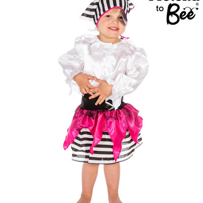 Pirate Girl Costume - Age 3/5 years