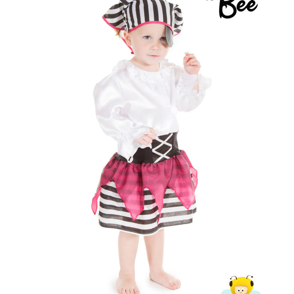 Pirate Girl Costume - Age 2/3 years