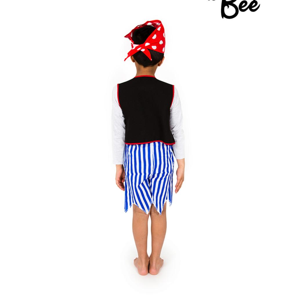 Pirate Boy Costume - Age 3/5 years