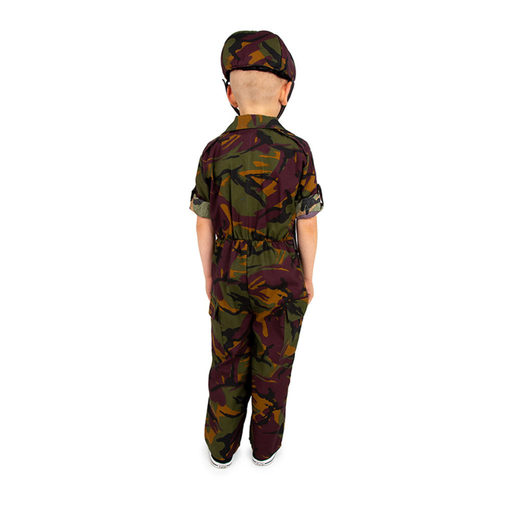 Army Costume - Age 3/5 years