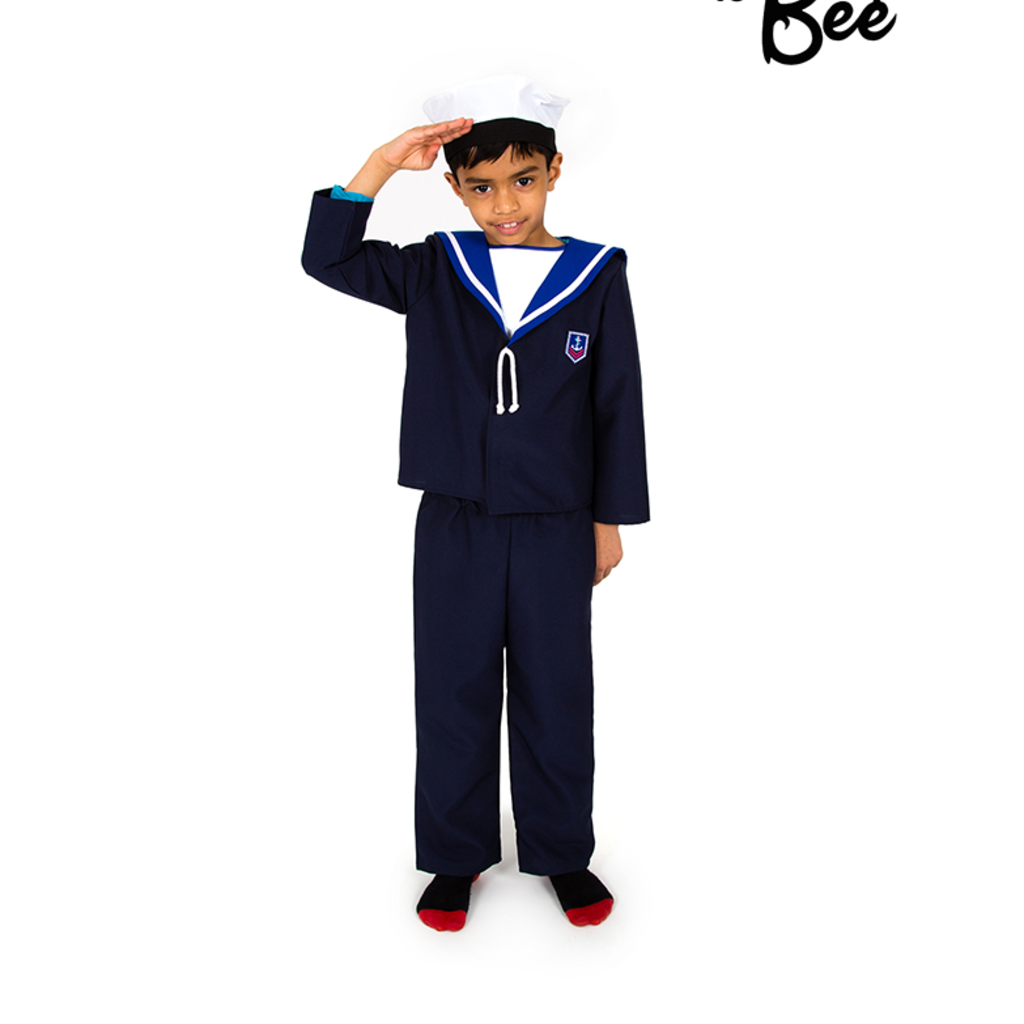 Sailor Costume - Age 5/7 years