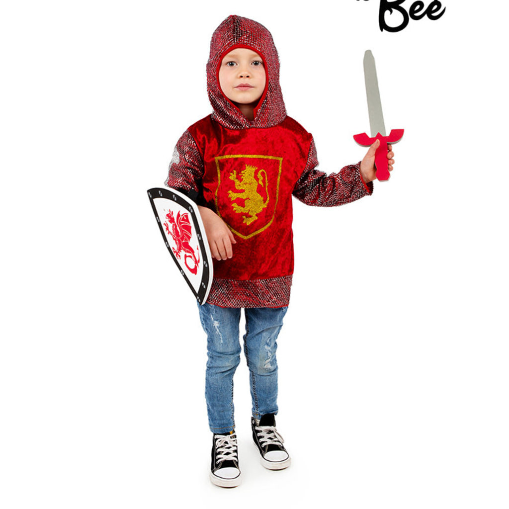 Red Knight Top - Age 5/7 years
