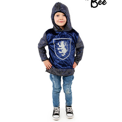 Blue Knight Top - Age 3/5 years