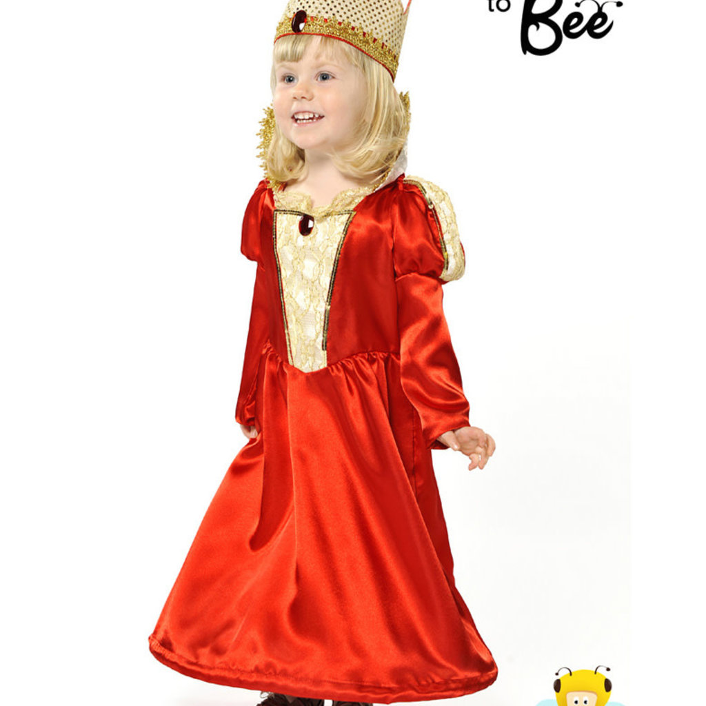 Queen Costume - Age 5/7 years
