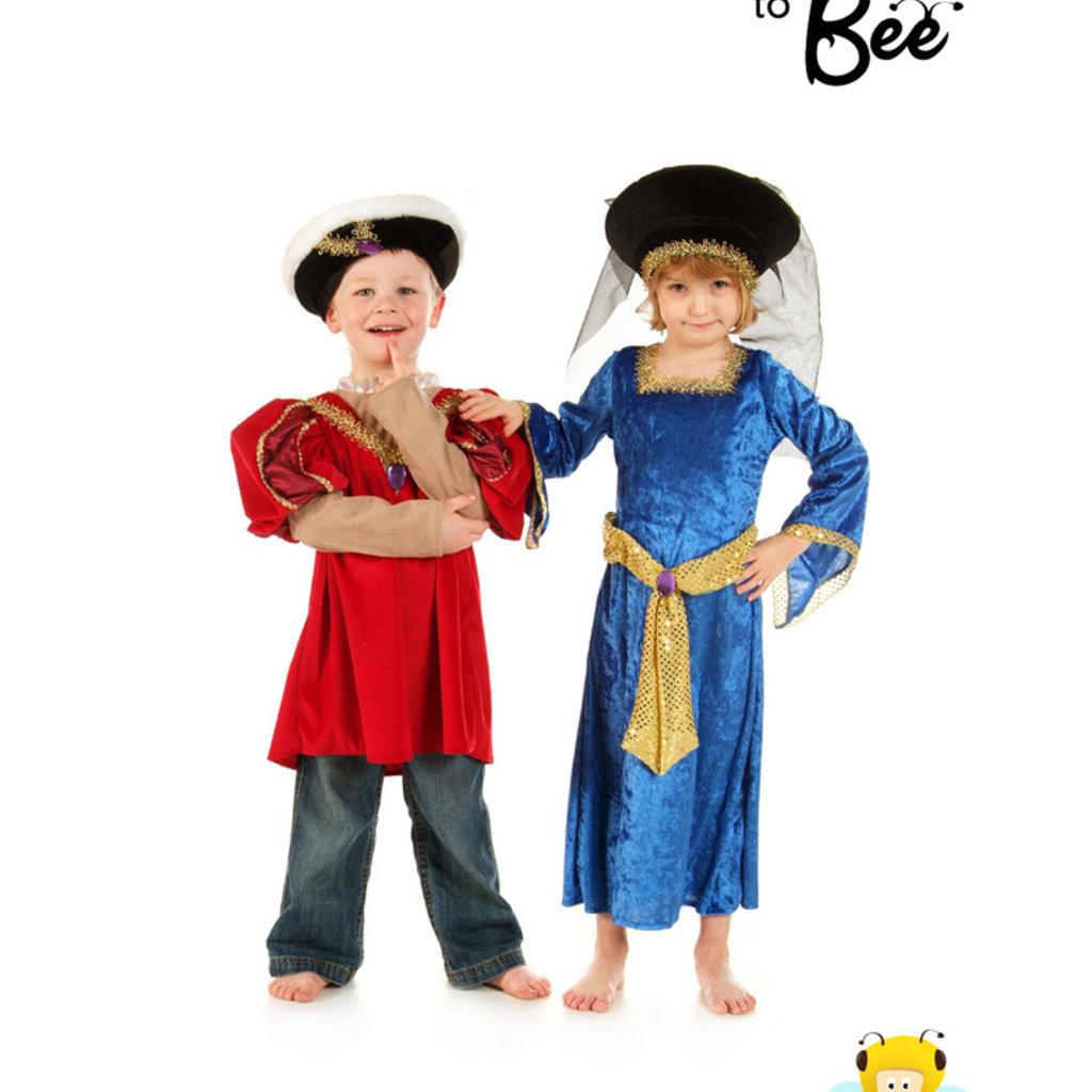 Mary Tudor Costume - Age 5/7 years