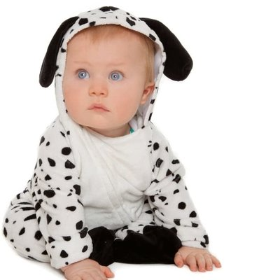 Dalmatian All in One Costume - Age 6/12 Mths