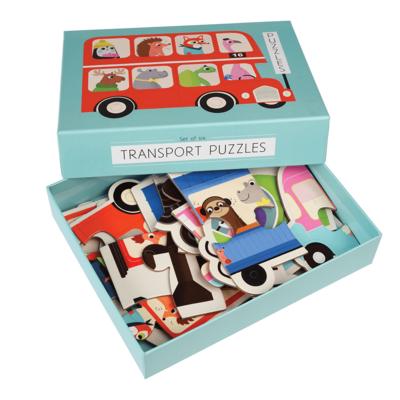 Transport Puzzle - Set of 6