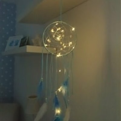 Light Up Dream Catcher - Blue