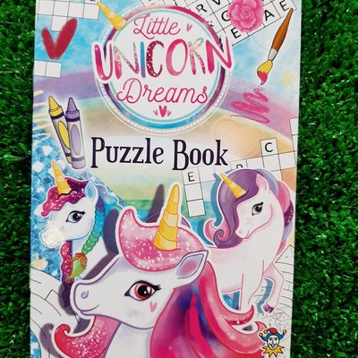 Henbrandt Ltd Puzzle Book - Little Unicorn Dreams