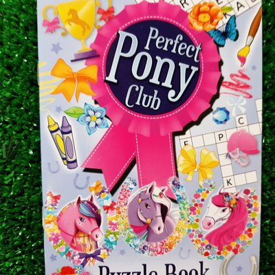 Henbrandt Ltd Puzzle Book - Perfect Pony Club
