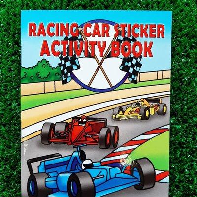 Henbrandt Ltd Mini Activity Book Stickers - Racing Car