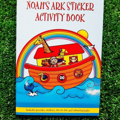 Henbrandt Ltd Mini Activity Book Stickers - Noah's Ark