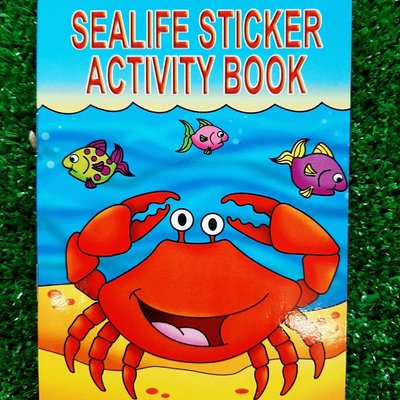 Henbrandt Ltd Mini Activity Book Stickers - Sealife
