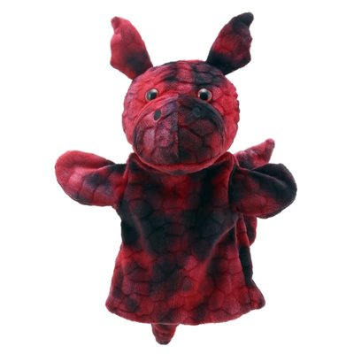 The Puppet Company Animal Puppet Buddies - Dragon (Red)