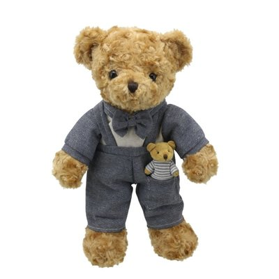Wilberry Dressed Animals Daddy Bear - Wilberry Dressed Animal