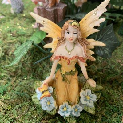 Alator Giftware Woodland Yellow Fairy Wishes