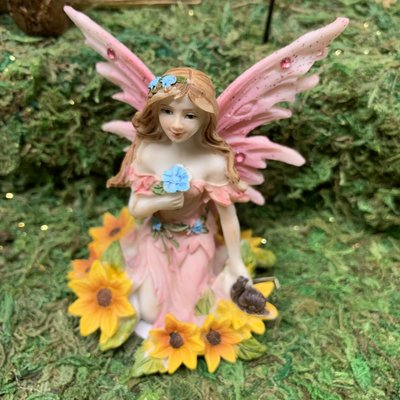Alator Giftware Woodland Pink Fairy Wishes