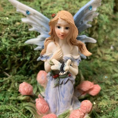 Alator Giftware Woodland Blue Fairy Wishes