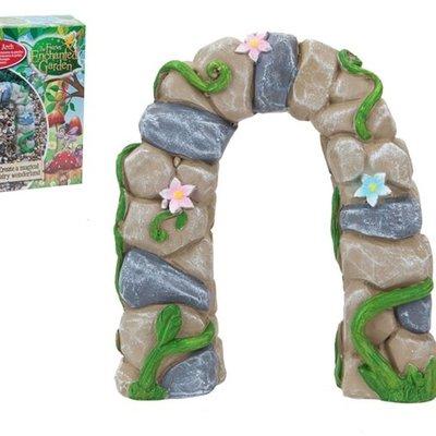The Fairies Enchanted Garden Secret Fairy Garden Fairy Stone Arch