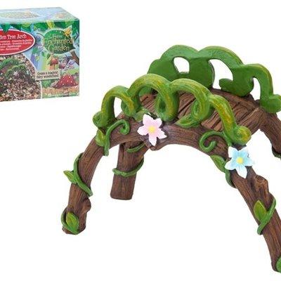 The Fairies Enchanted Garden Secret Fairy Garden Fairy Tree Arch