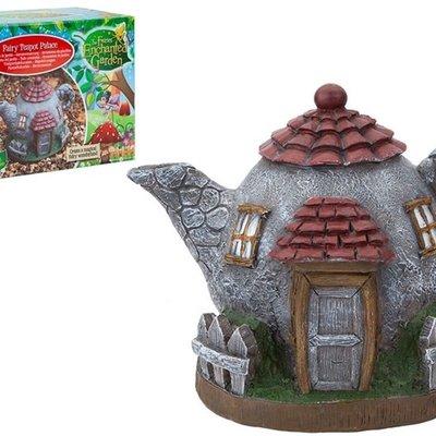 The Fairies Enchanted Garden Secret Fairy Garden Teapot Palace