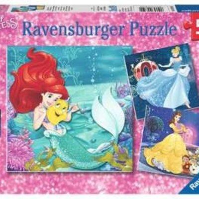 Disney Disney Princesses Adventure 3x49 pcs Puzzles