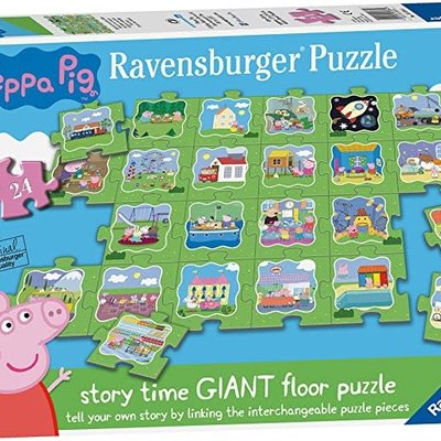 Peppa Pig Peppa Pig Story Time Giant Floor Puzzle 24pcs