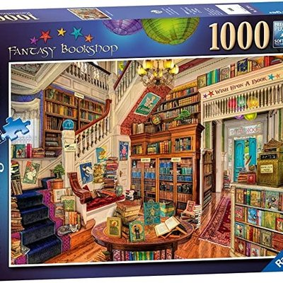 Ravensburger Fantasy Bookshop Puzzle 1000pcs