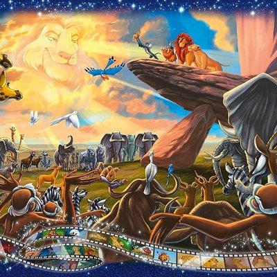 Disney Disney - The Lion King Puzzle 1000pcs Jigsaw