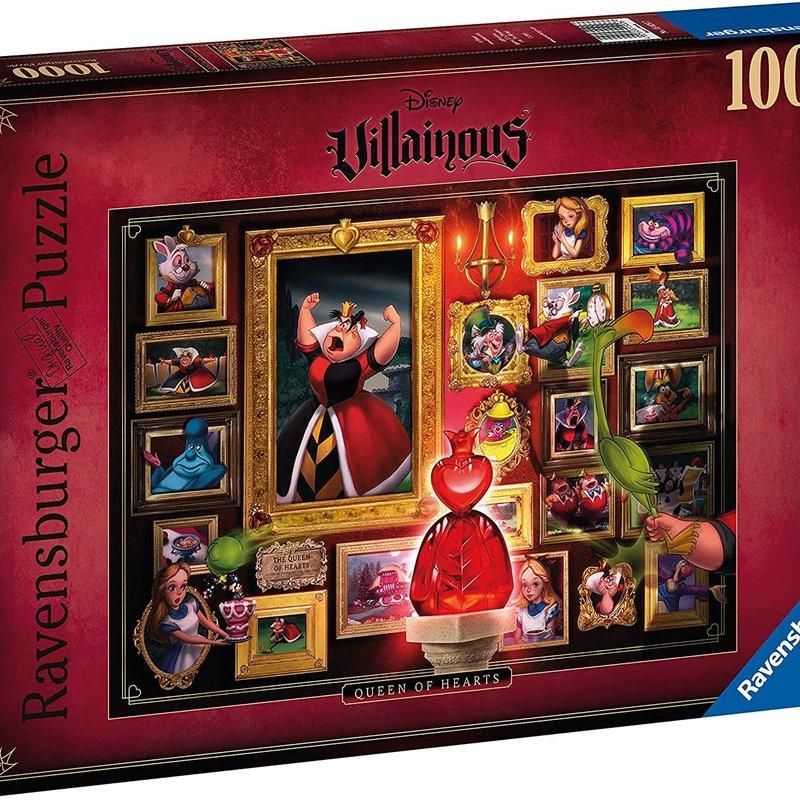 Disney Villainous Disney Villainous - Queen of Hearts Puzzle 1000pcs Jigsaw