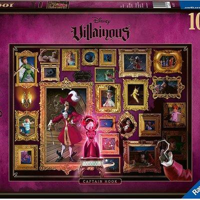 Disney Villainous Disney Villainous - Captain Hook Puzzle 1000pcs Jigsaw