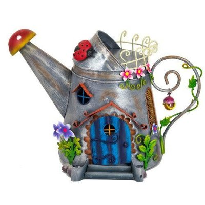 World of Make Believe Fairy Kingdom - Watering Can Fairy House