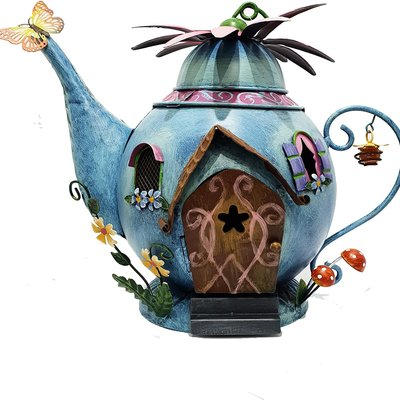 Fairy Kingdom Fairy Kingdom - Blue Teapot Fairy House