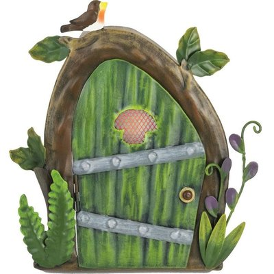 Pixie World Pixie Green Door with Robin