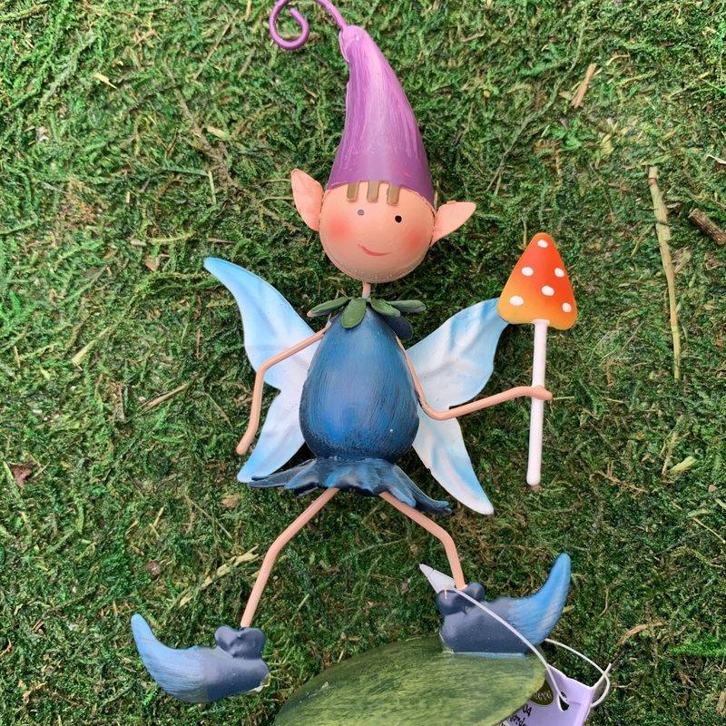 Pixie World Pixie World - Pixie Pip Garden Helper with Toadstool (Mini)