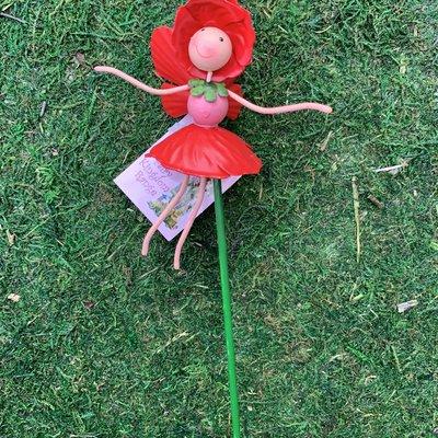 Fairy Kingdom Fairy Kingdom - Poppy Pot Stake