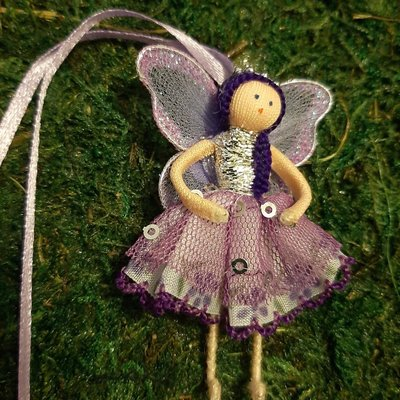 Fairy Goodies Wishing Fairies - Purple